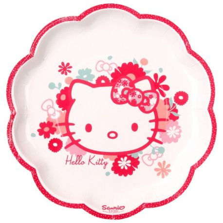 Hello Kitty Piatti di Carta