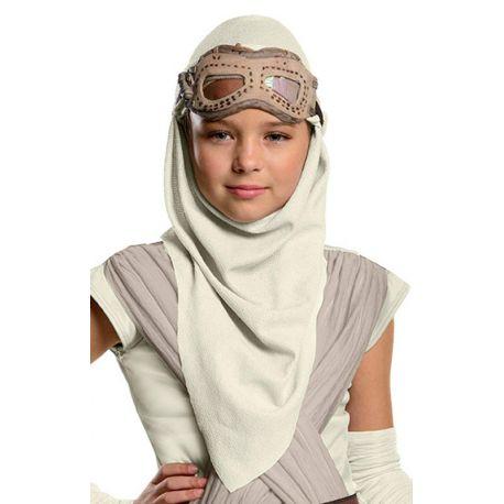 Maschera Occhi e Cappuccio Rey Star Wars