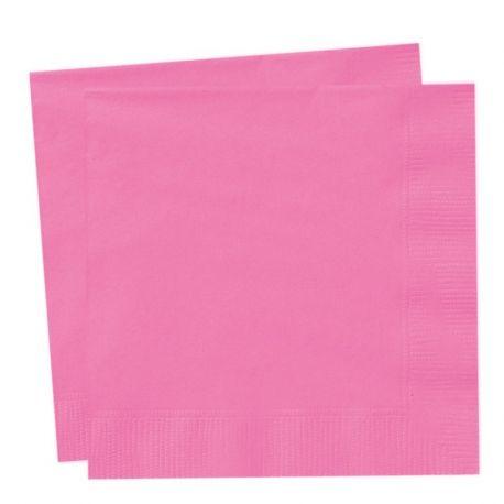 Tovaglioli di carta Rosa Fucsia (50 pz)