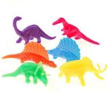 Gadget Dinosauri figurine  in plastica  (12 pz)