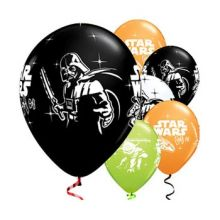 Kit di 8 Palloncini Star Wars 28 cm