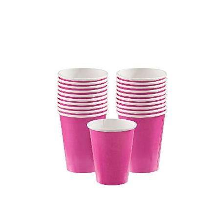 Bicchieri plastica Fucsia  (20 pz)