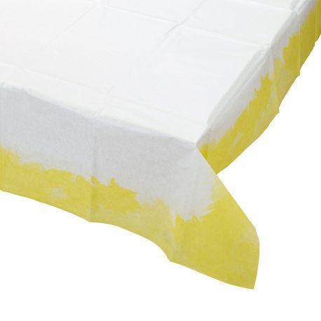 Tovaglia di carta bordo giallo