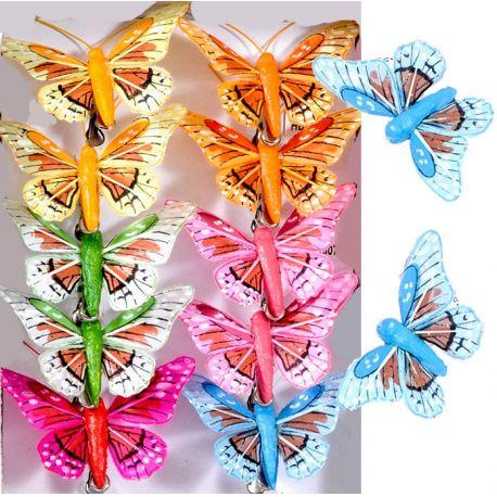 Festa Masha Orso Farfalle Colorate