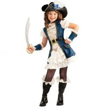Blu Pirate Costume Bambina