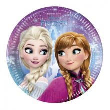 Festa Frozen Northen light piatti 23 cm