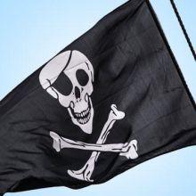 Festa Pirati dei Caraibi Bandiera 87 x 150 cm