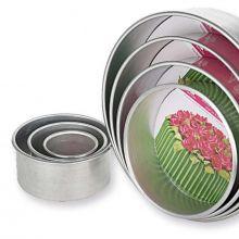 Decora Stampo Tondo Alluminio H 10 cm