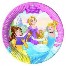Piatti Principesse Disney 20 cm 8 pz