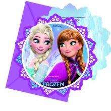 Frozen Luci del Nord Biglietti di Invito