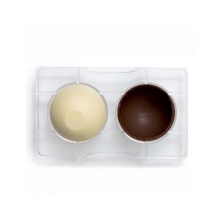 Stampo per 2 uova cioccolato da 70 gr