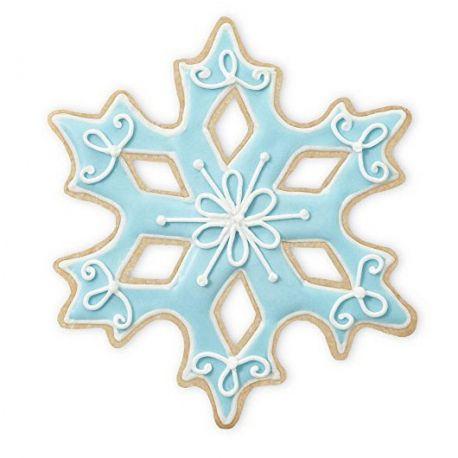 Set  tagliapasta in metallo fiocco di neve