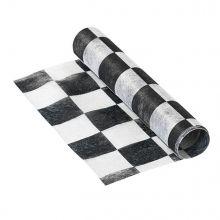 Runner tavola a scacchi 30 x 200 cm