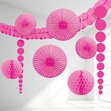 Grande Kit Decorazioni in colore Giallo (9 pz)