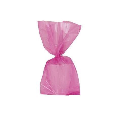 Sacchetti Party in Cellophane rosa (25 pz)