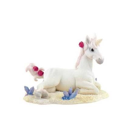 Statuina per Torta - Unicorno Bianco