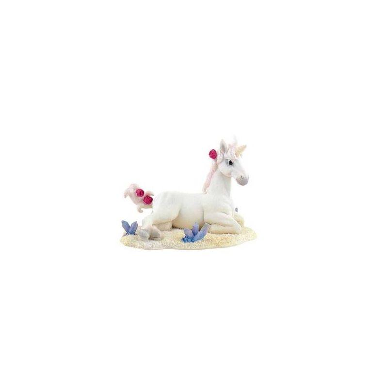 Statuina per torta unicorno bianco wimipops for Decorazione unicorno