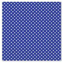 Tovaglioli di carta Blu pois Bianchi 20 pz