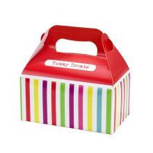 Scatola tipo food box color Rosso