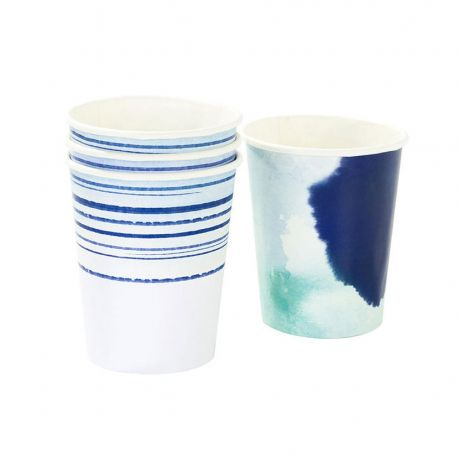 Bicchieri Cambusa Azzurro Blu (12 pz)