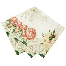 Petali e Roselline Piattini di carta (12 pz)