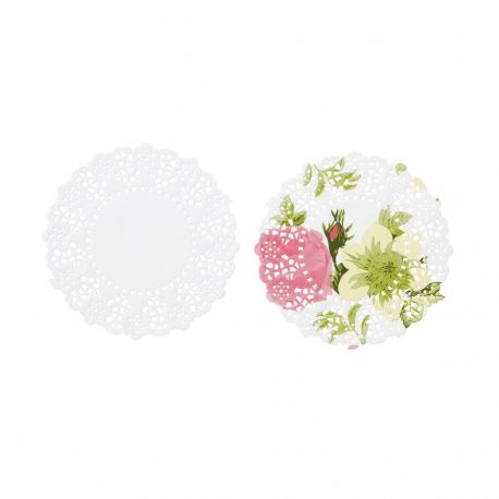 Petali e Roselline Tovaglioli di carta (20 pz)