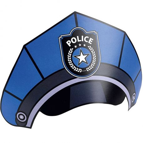 Cappello Party Polizia  (6pz)