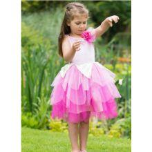 Vestito Fatina dei Fiori color Rosa