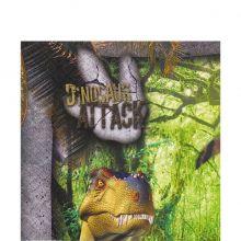 Festa Dinosauri Tovaglioli di carta (20 pz)