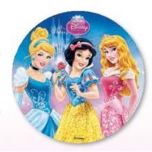 Cialda per Torta Principesse Disney
