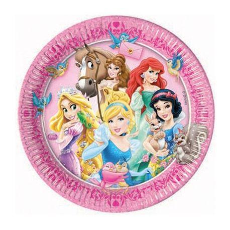 Principesse Disney Animals Piatti 23 cm
