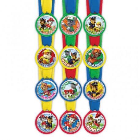Paw Patrol mini medaglie