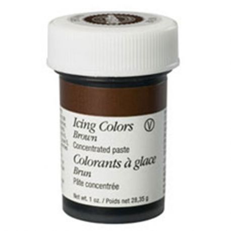 Colorante  Wilton Marrone  28 gr