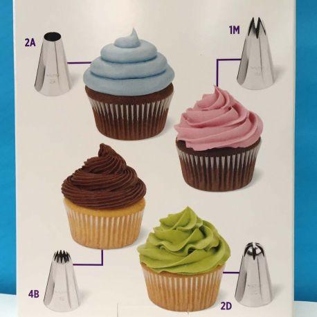 Set 12 accessori per decorare Cupcake