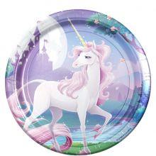 Piatti di Carta Unicorno