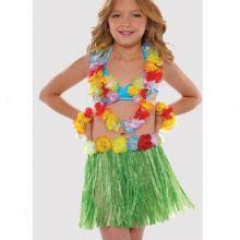 Costume Hawaiiano Bambina