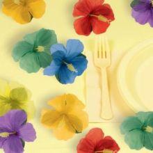 Festa Hawaiana Fiori di Hibisco (24 pz)