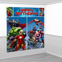 Scenografia Avengers 180 x 180 cm