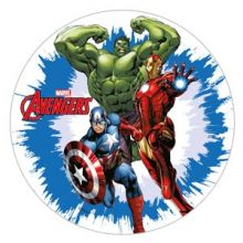 Disco in zucchero Avengers