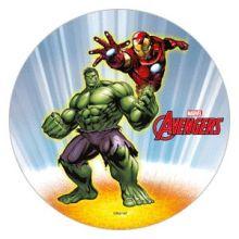 Cialda Totrta Avengers Hulk e  Iron Man