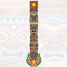 Tiki Totem Cutout 1.80m Festa Hawaii