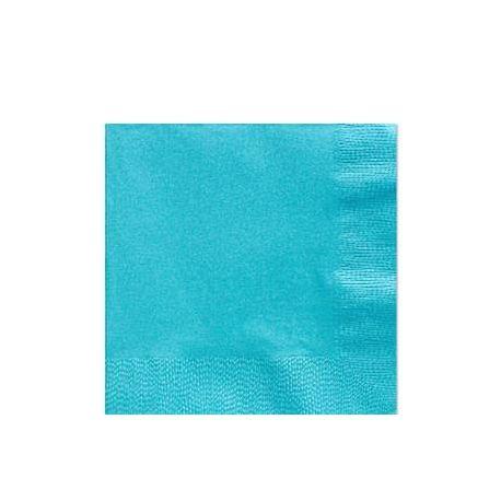 Tovaglioli color Turchese (20 pz)