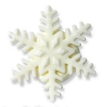 Fiocchi di neve in zucchero 5 pz