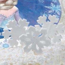 6 Cristalli di Ghiaccio Zucchero 5-7 cm