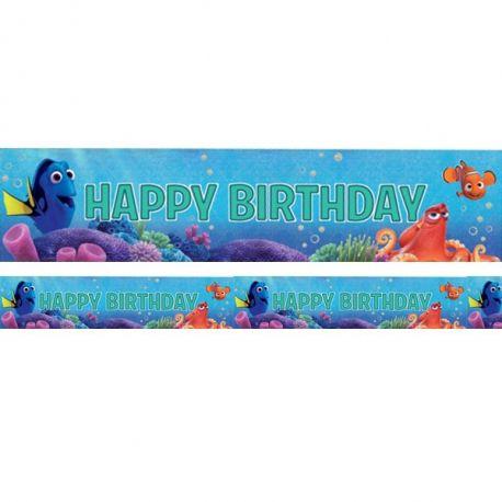 Stiscione Olografico Happy birthday Alla Ricerca di Dory