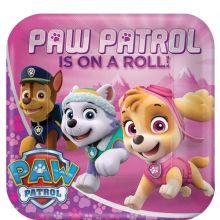 Piatti Paw Patrol Rosa  23cm