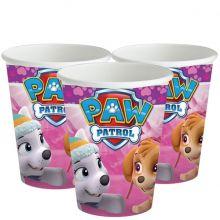 Bicchieri Paw Patrol Rosa (260ml)