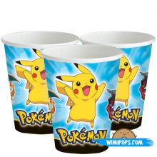Bicchieri di Carta Pokemon (250ml)