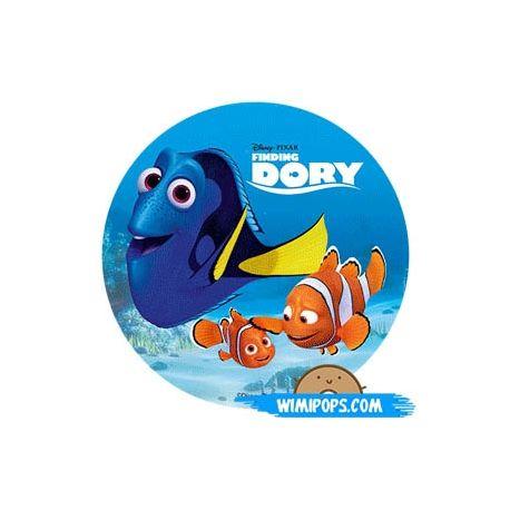Disco in zucchero Dory Nemo e Hank