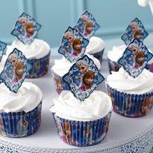 Festa Frozen Pik per cupcakes e tramezzini
